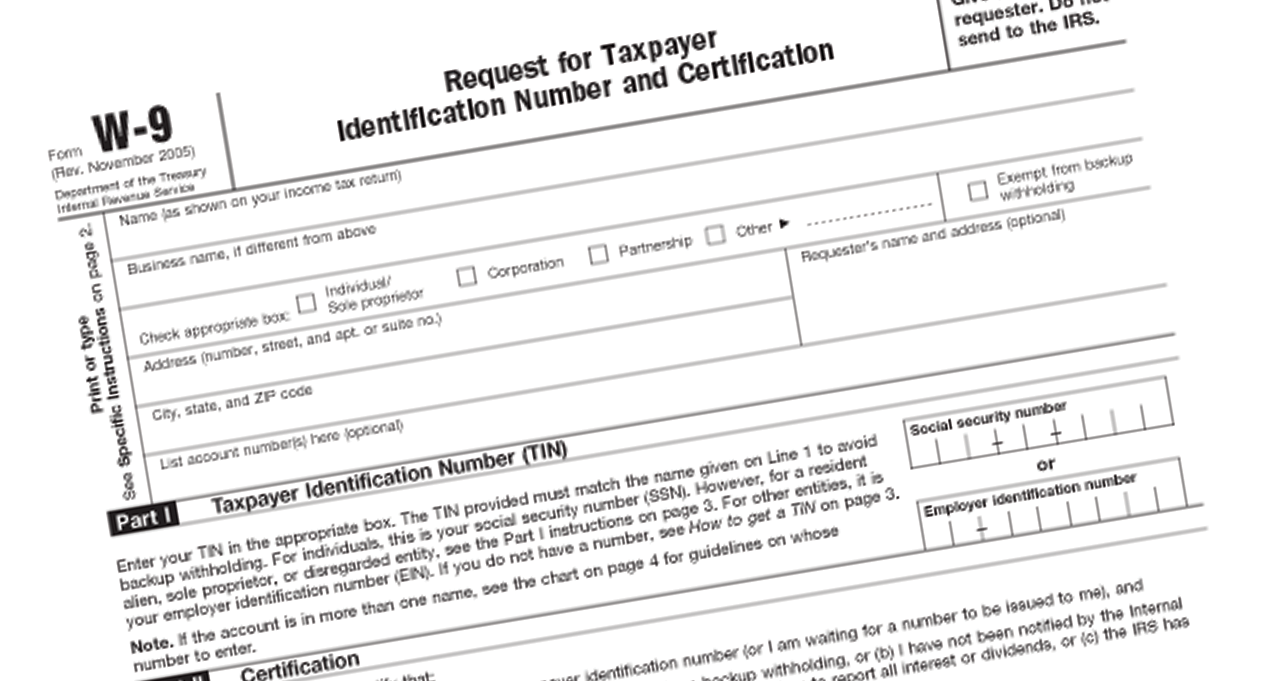 tax identification numbers home loans